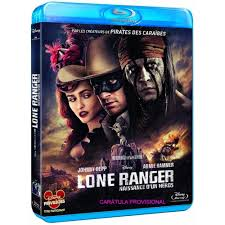 El llanero solitario bluray