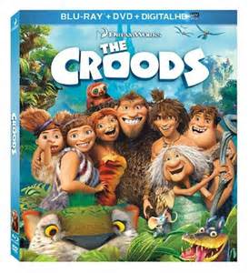 Los Croods DVD-Bluray