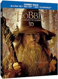 el hobbit 3d dvd