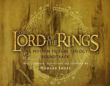 El señor de los anillos bso trilogia